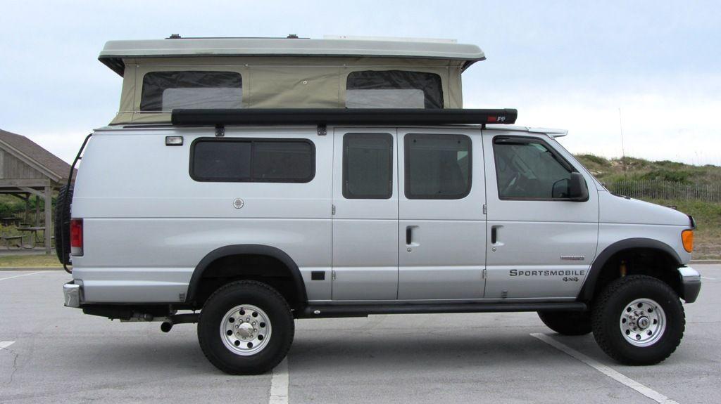 Sportsmobile Custom Camper Vans 2007 Ford EB E350 Diesel