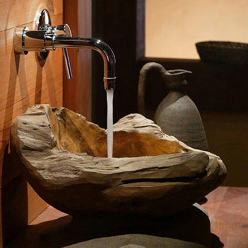Lavamanos EMPRENDIMIENTO Pinterest Bath, House and Woods