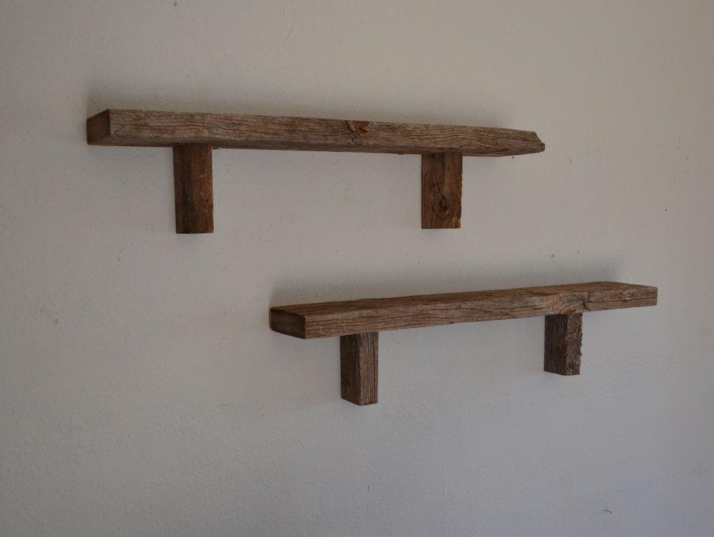 2x4 shelves   House ideas   Pinterest   Shelves, Rustic shelves ...