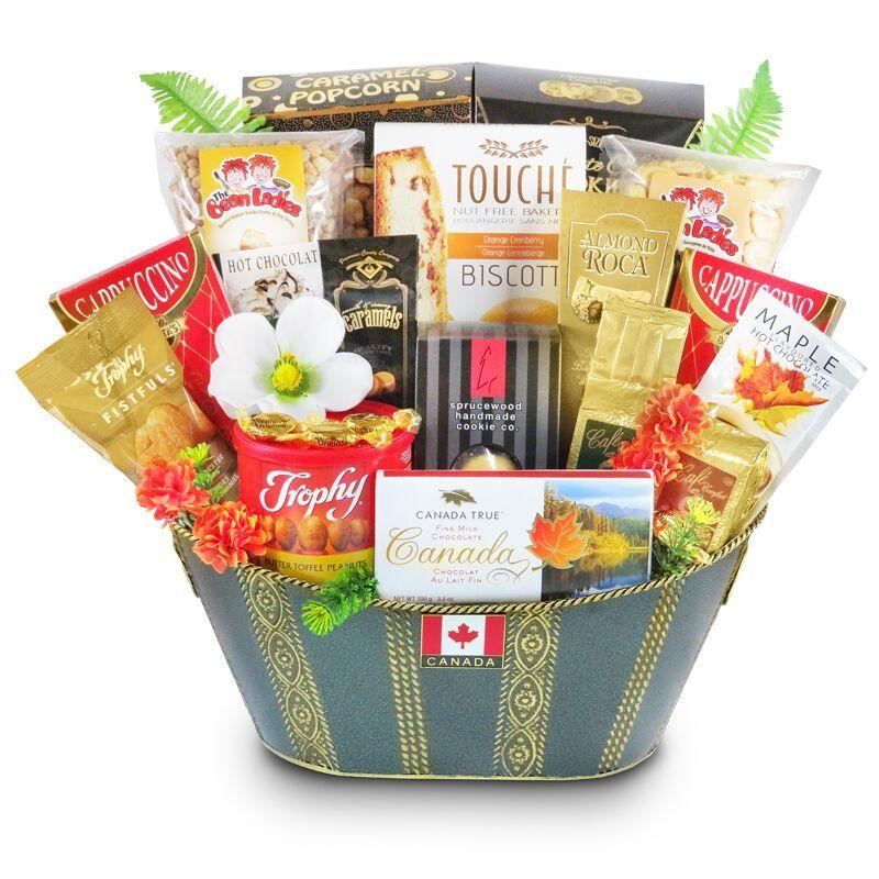 True Canadian Greetings Gourmet gifts, Canadian food
