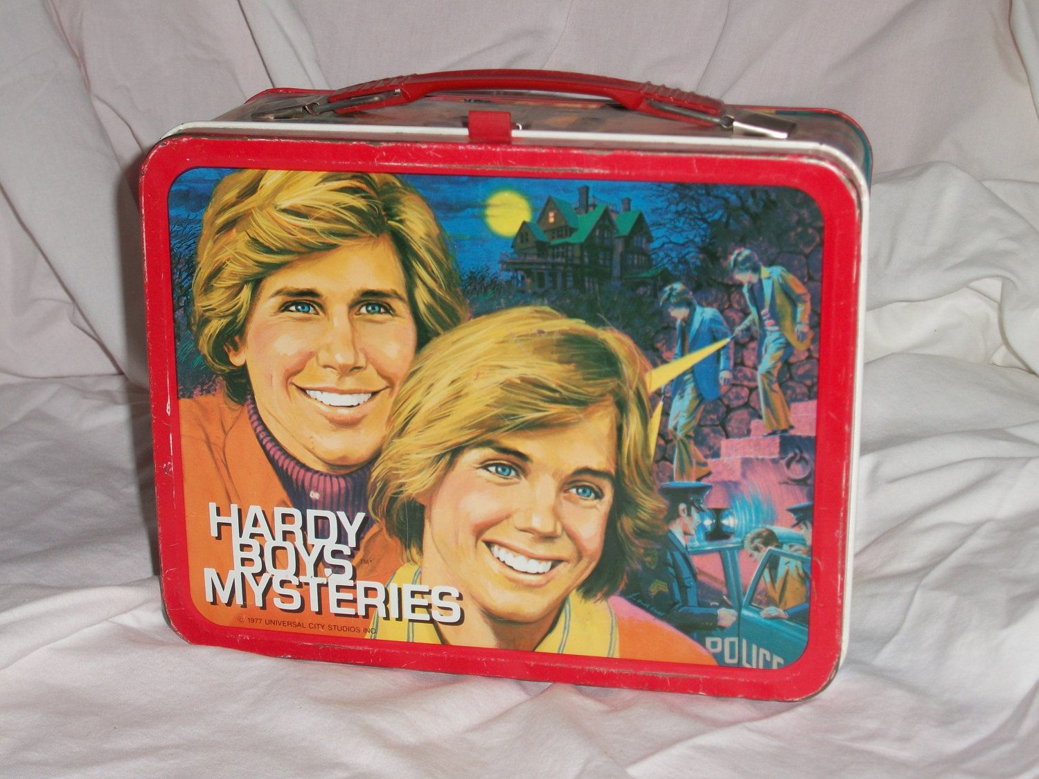 66ebeb546d63 1977 Hardy Boys vintage metal lunchbox very nice. $45.00, via Etsy ...