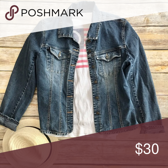 e9d8f87d3b1 Denim jacket This A.M.I denim jacket is in great condition! No holes ...