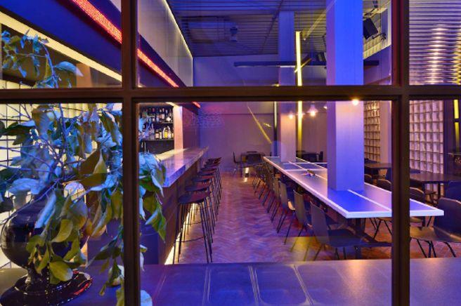 ondarreta rokoko restaurant  nicosia cyprus stools and