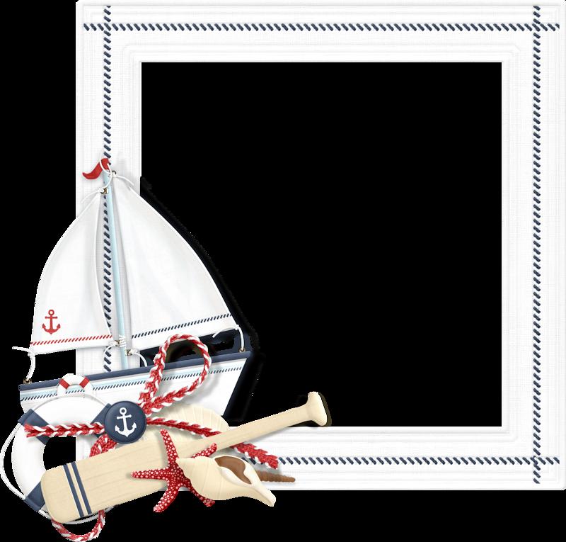 Шаблон для морской открытки