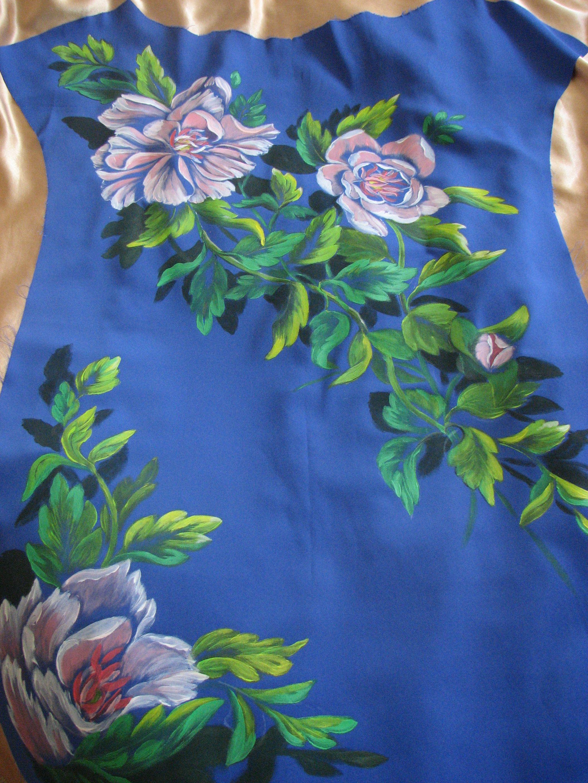Painting On Silk Fabric