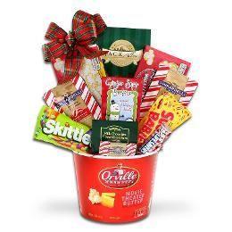 Kohl's Alder Creek Holiday Movie Night Gift Basket #movienightgiftbasket Kohl's Alder Creek Holiday Movie Night Gift Basket