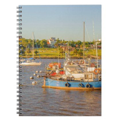 Buceo Port Montevideo Uruguay Notebook - #travel #office #gifts - travel officer sample resume