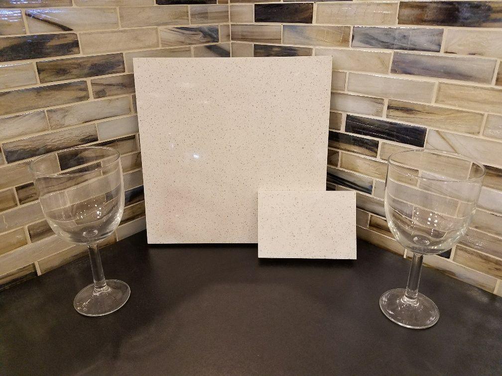 Della Terra White Sand Quartz Paired With Shimmer Abalone 1x4