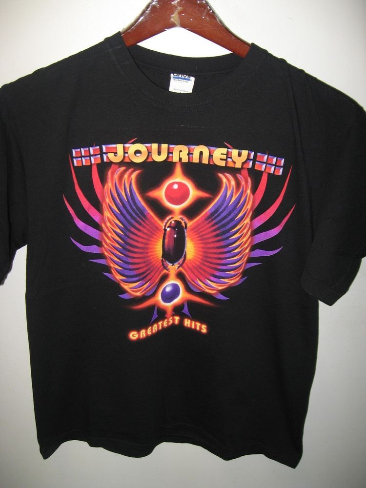 5b4d9c4f3d00fd Journey Tee - American Rock Roll Band Greatest Hits 2012 Concert Tour T  Shirt Lg #JourneyGreatestHits2012ConcertTour #GraphicTee