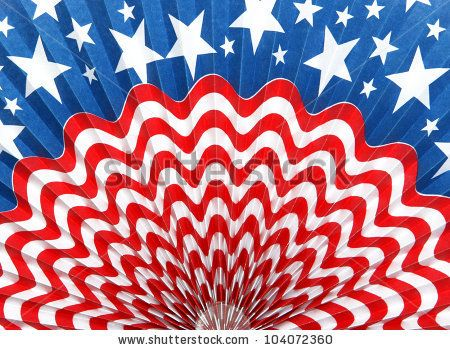Rippled Usa American Flag Abstract Background Stock Photo ...