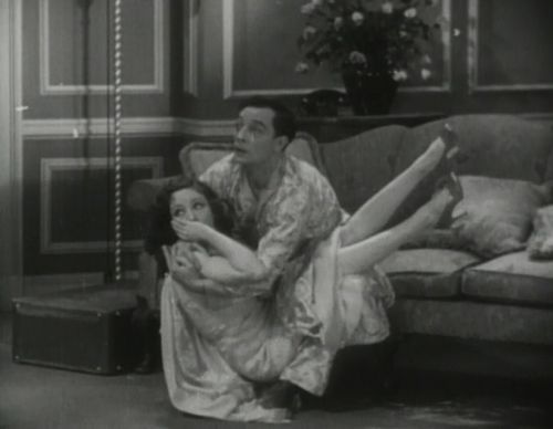 Reggie learns too well -, pouncing on every woman including poor Nita whose husband arrives with a gun ready to kill Reggie