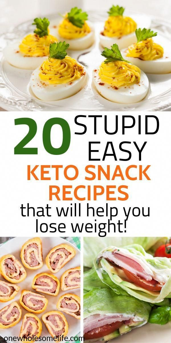 20 Keto Snack Recipes for Weight Loss