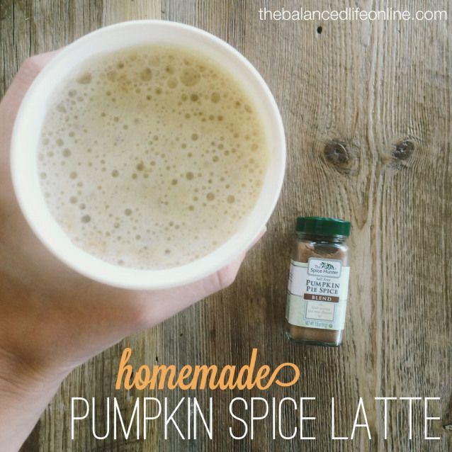 Homemade Pumpkin Spice Latte #2weekdiet