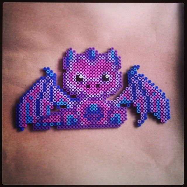 Dragon hama beads by katt_1907