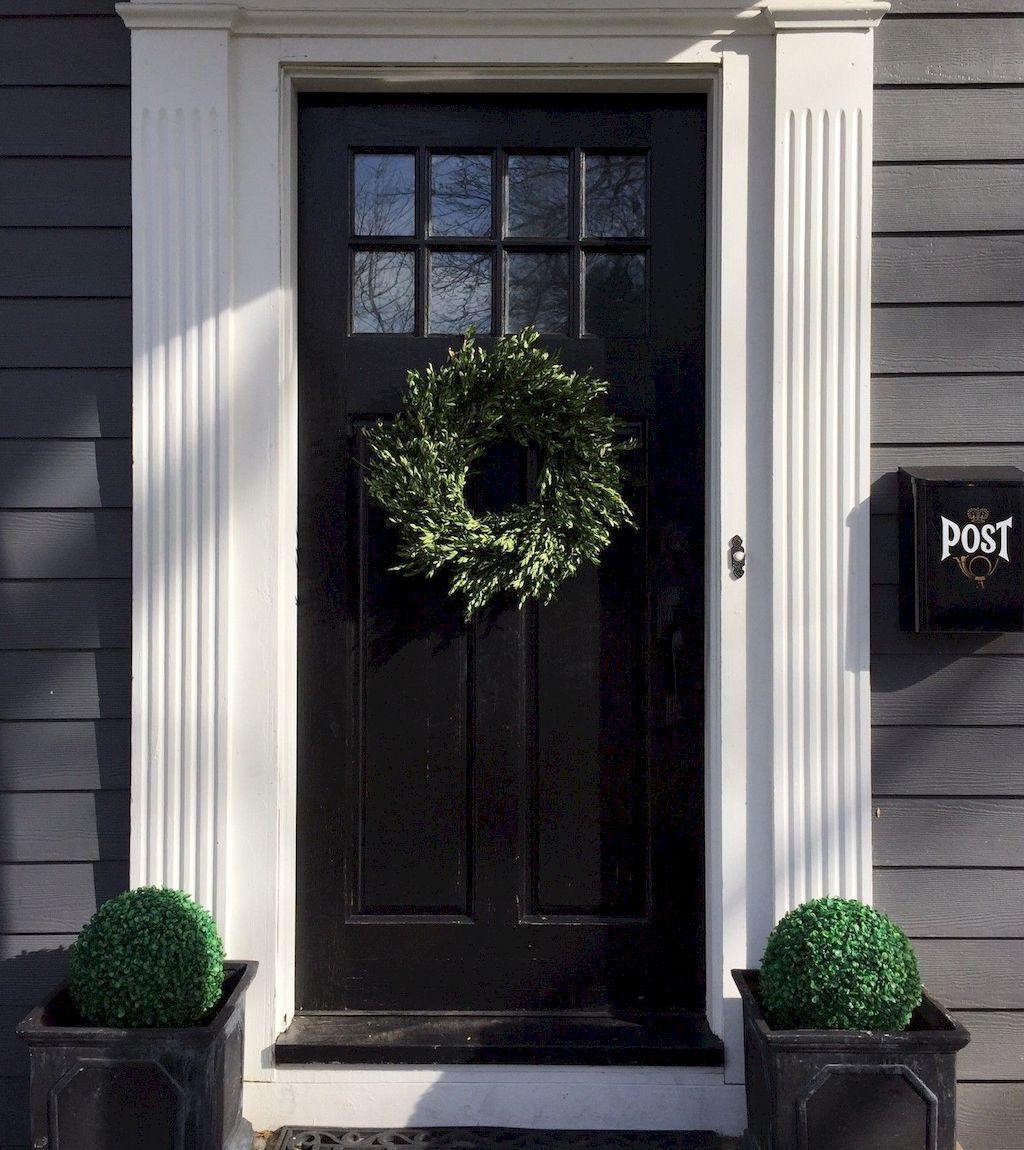 Elegant Front Door Decorating Ideas Modern farmhouse
