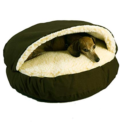 Amazon Com Snoozer Cozy Cave Olive Small Pet Beds Pet Supplies Cozy Cave Dog Bed Cave Dog Bed Cool Dog Beds