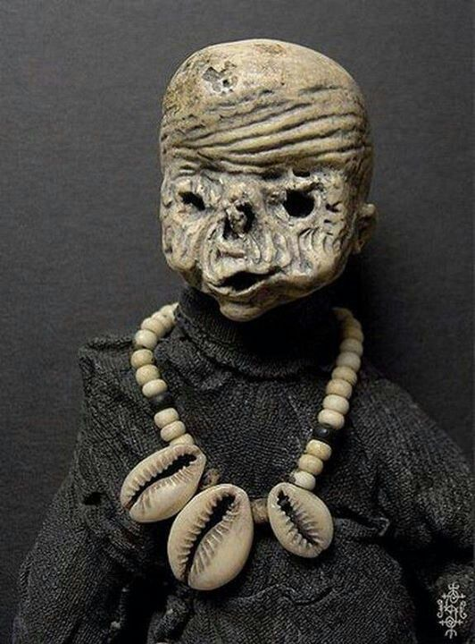Creepy voodoo doll   HORROR   Voodoo dolls, Creepy dolls, Voodoo