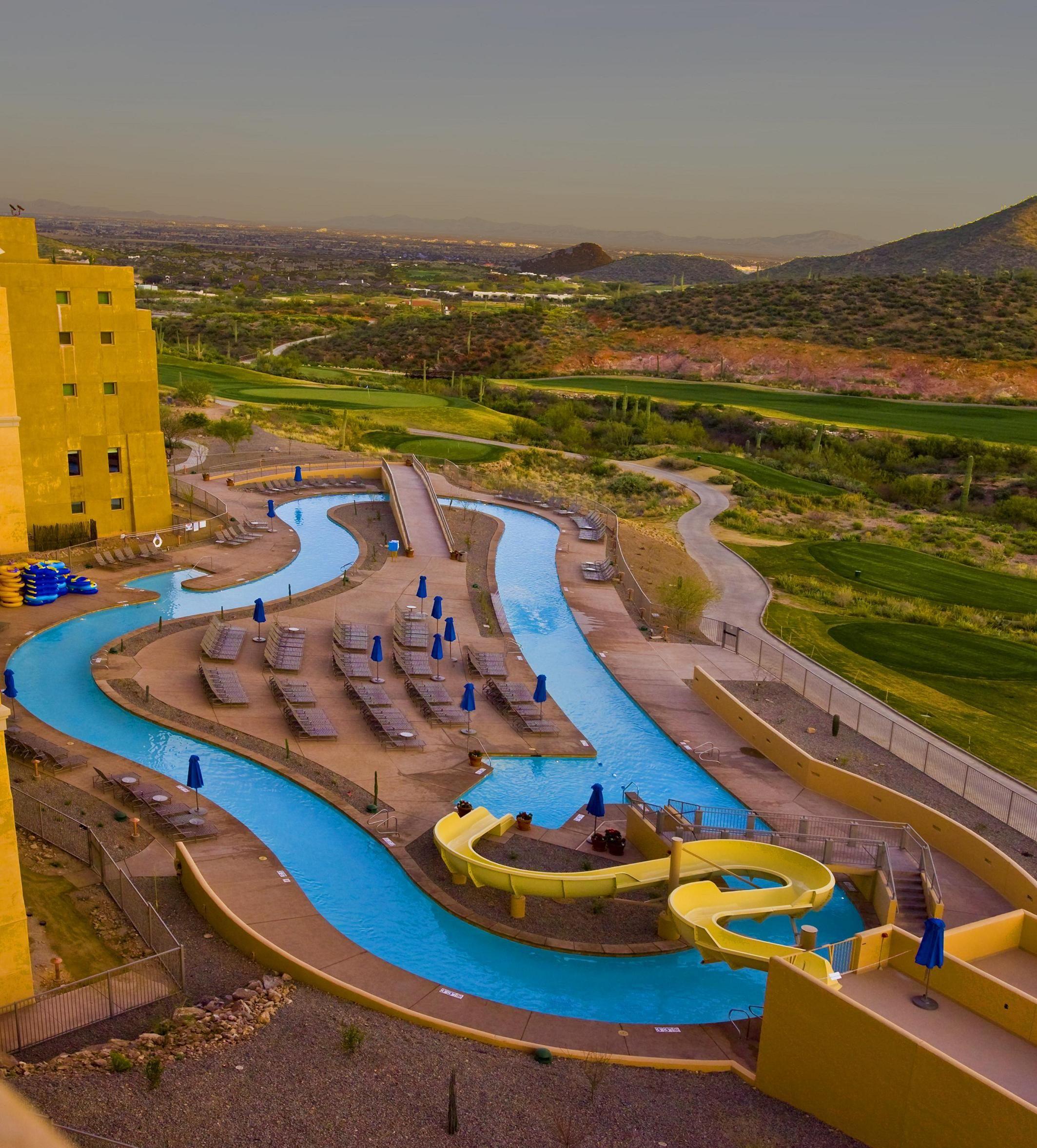 Starr Pass Resort Lazy River Tucson Az Resort Pools