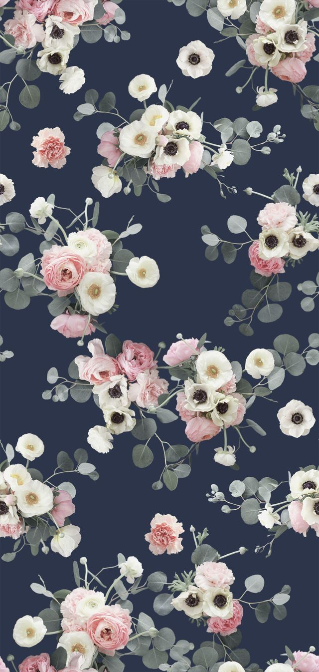 Flowers Floral wallpaper iphone, Floral wallpaper phone