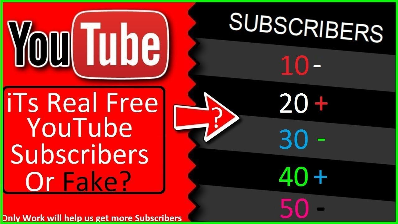 How to Get Free Youtube Subscribers 100 Not Work vs Real