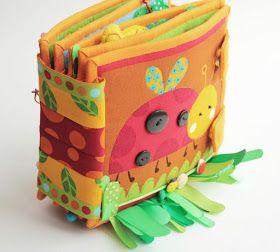 Handmade by mom: Развивающая книжка для Алисы!!!