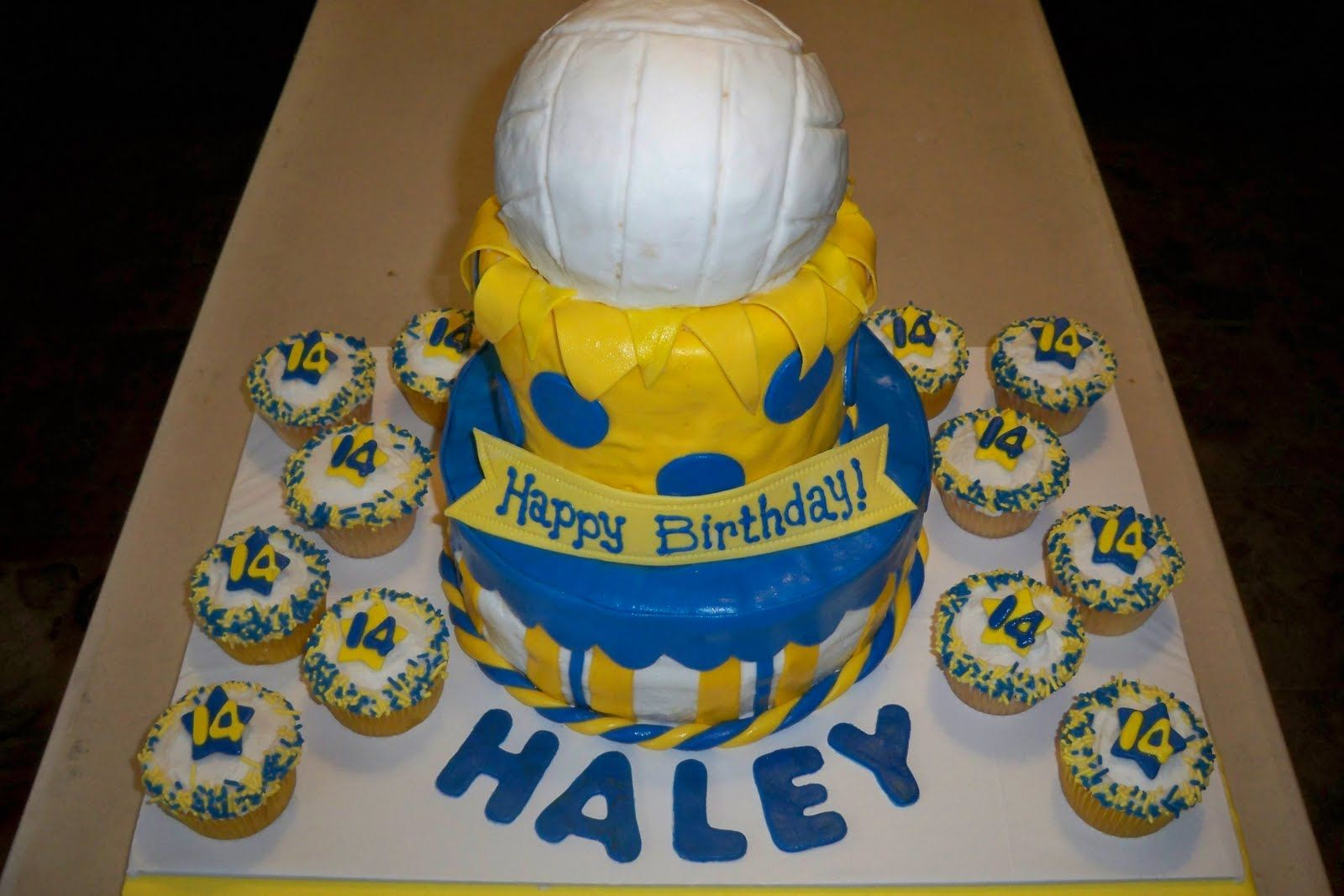 Volleyball Cake Volleyball Cakes Cake Sport Cakes