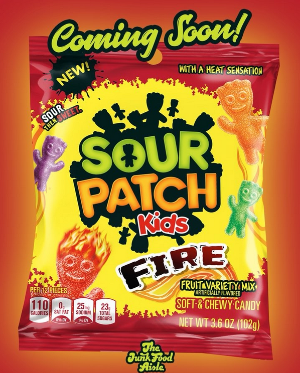 Sour Patch Kids Fire Coimg Soon Sour Patch Kids Sour Patch Chewy Candy