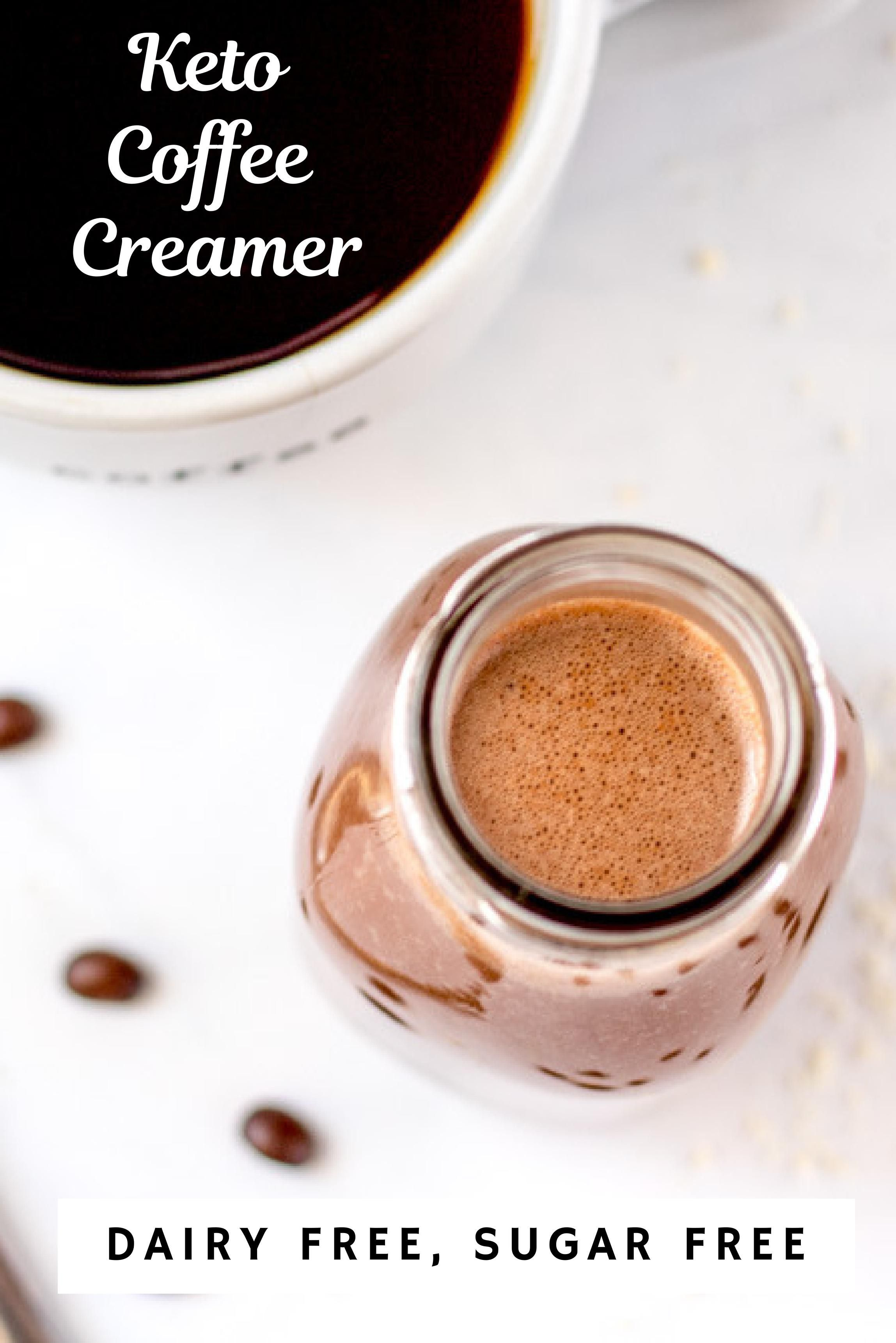 If you are missing coffee creamer on your keto diet i