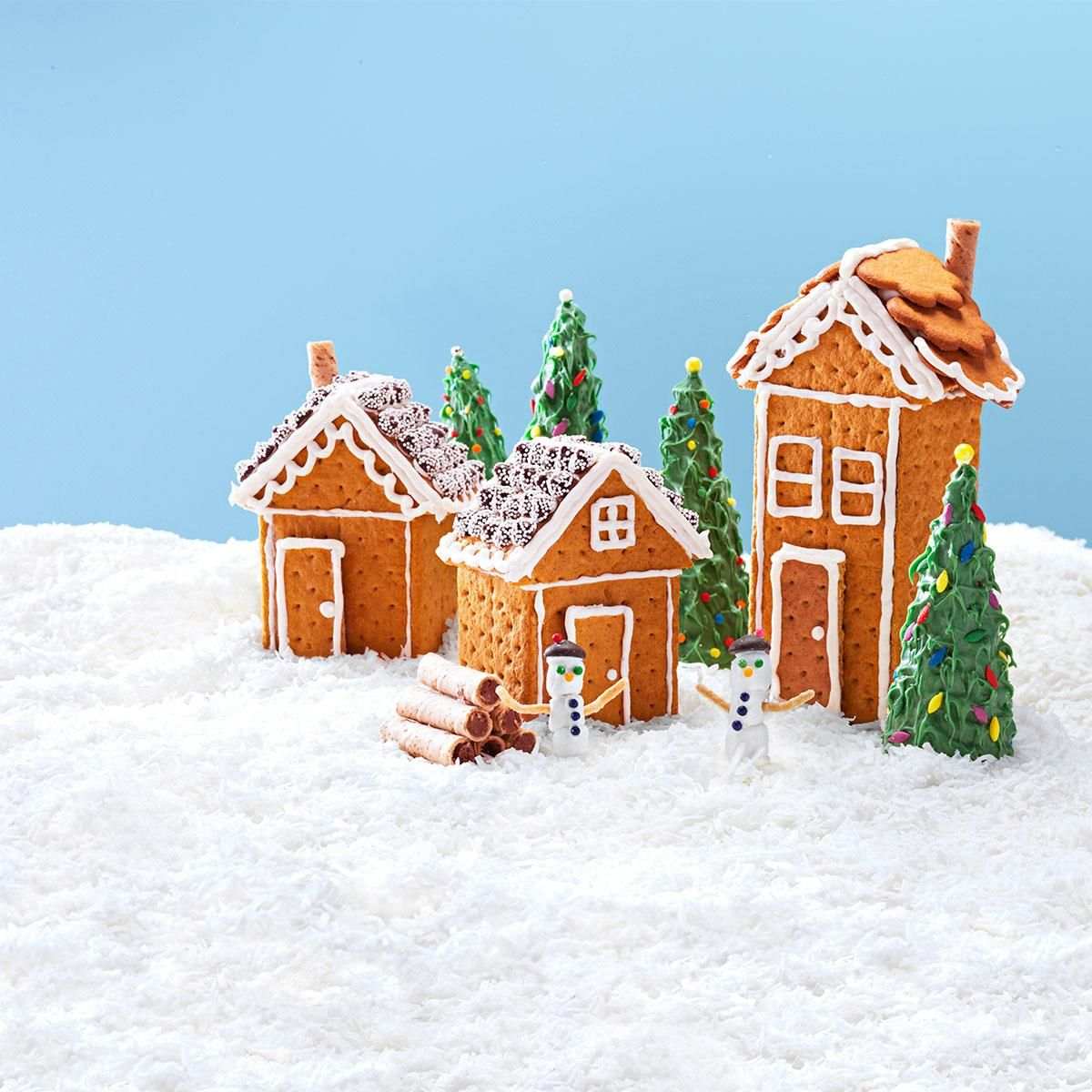 Christmas Graham Houses Recipe Gingerbread, Christmas