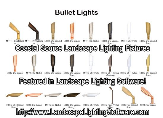 Coastal Outdoor Lighting Coast Source Bullet Light Fixtures Featured In Landscape Lighting