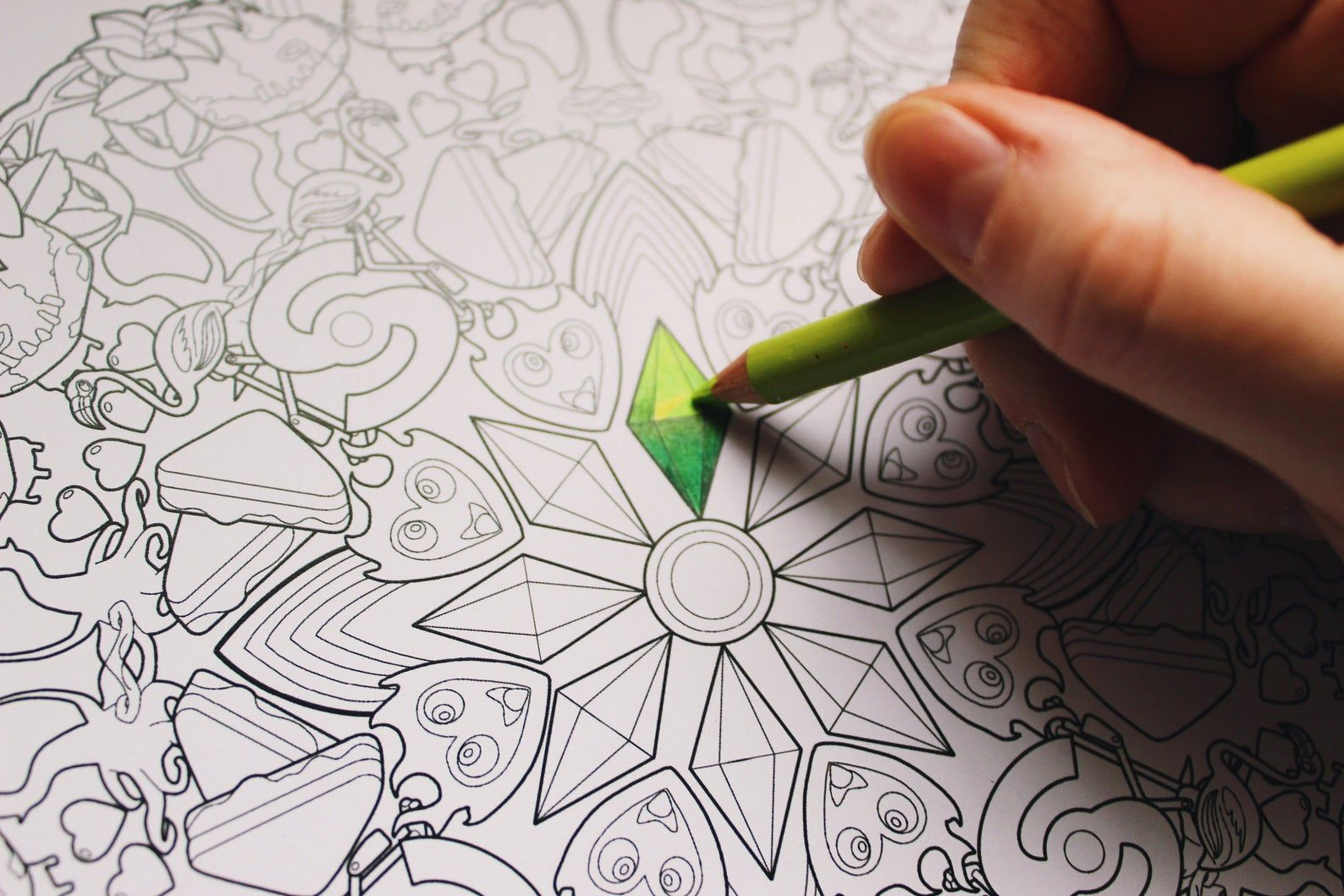 The Sims Colouring Page Digital Download Coloring Pages
