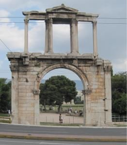Arch of HadriATHENS - The Greek debt crisis threatens not only the stability of the country itself, but also its cultural heritage. Because of the widespread budget cuts, not all necessary restorations to the country's many ancient monuments can be carried out.