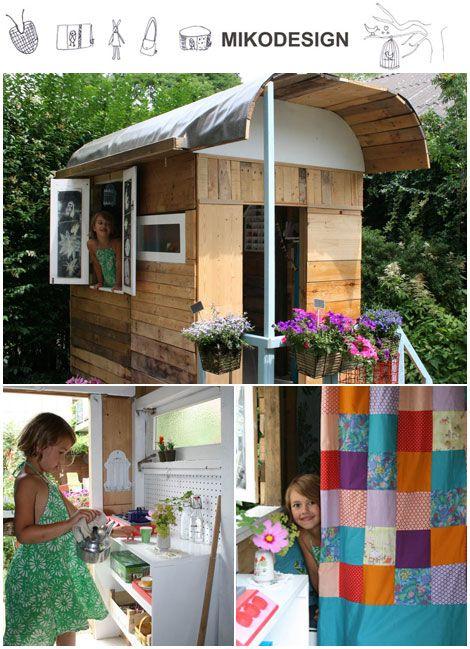 cabane en bois kid s room ambiances pinterest cabane cabane jardin et cabane bois. Black Bedroom Furniture Sets. Home Design Ideas