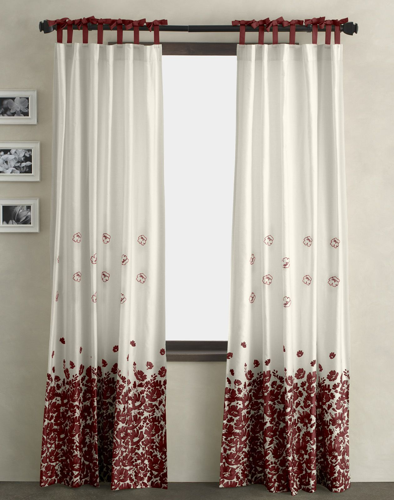 20 Amazing Ideas To Make Your Simple Houses Fell More Comfortable And Look Luxurious Red And White Curtains Curtains Living Room Curtains