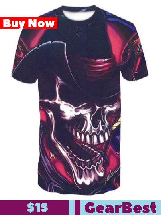 King Leoric Rock 3D Print Men S Casual Short Sleeve Graphic Tee T-Shirt  15  King Leoric Rock 3D Print Men S Casual Short Sleeve Graphic Tee T-Shirt   Men s ... 86bcfff19