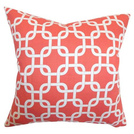 I pinned this Addison Pillow in Coral