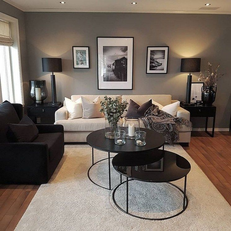 43 Grey Small Living Room Apartment Designs To Look Amazing 19