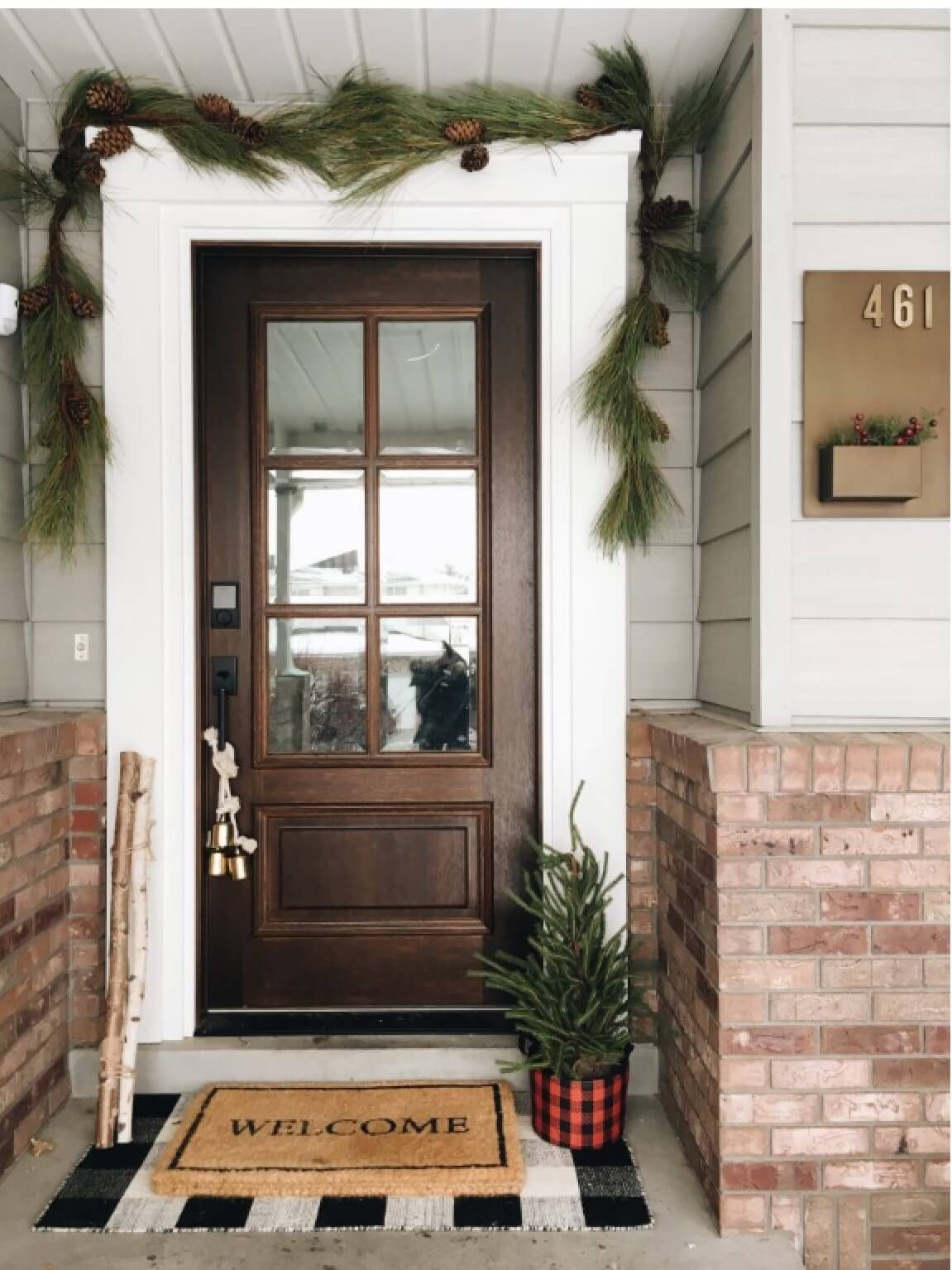 Armhousemade Com 15 Christmas Colors Doors Farmhouse