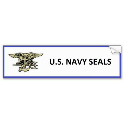 U s navy seals bumper stickers