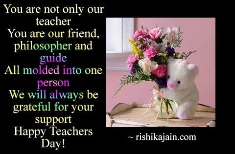Happy Teachers Day Card Quotes Message Sms Greeting Poem Happy Teachers Day Happy Teachers Day Card Teachers Day Card