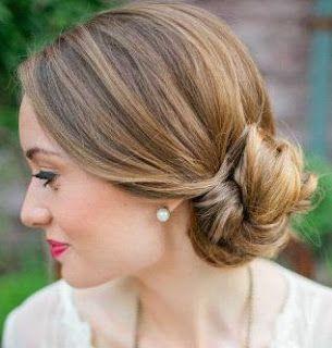 Peinados recogidos de lado cabello corto