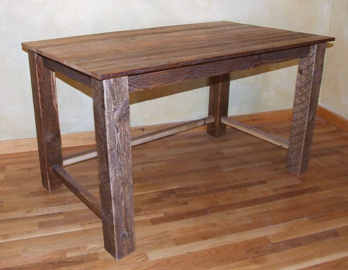 Image Of Rustic Writing Desk Barn Wood