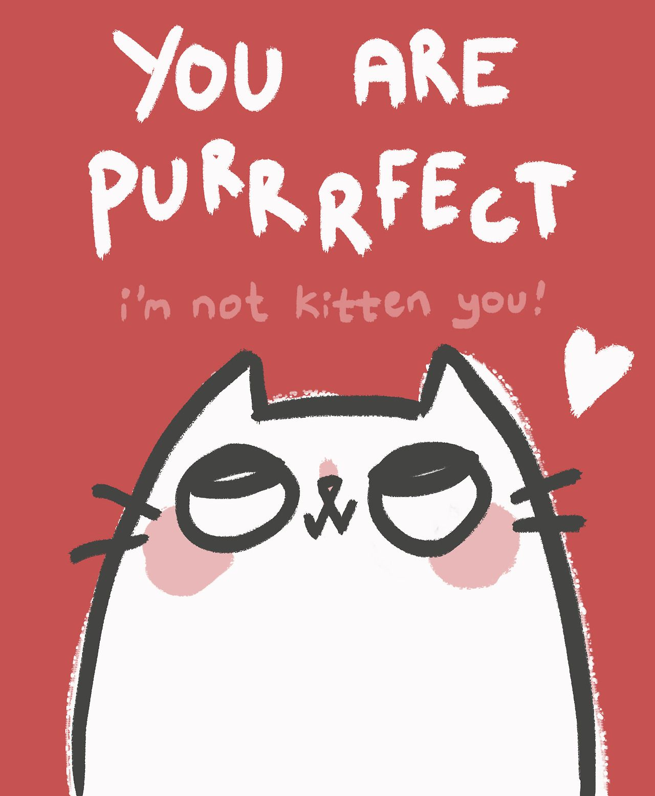Practice Self Love cats gatos Pinterest – Cat Valentine Card