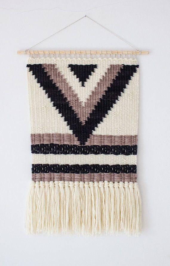 Geweven muur opknoping  Geweven kunst aan de door weavingmystory