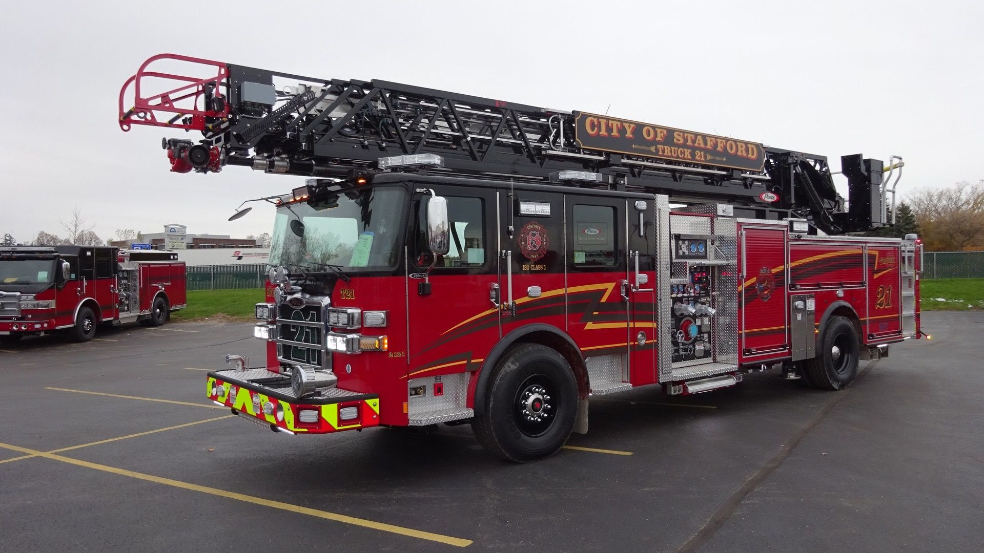 Stafford T21 Fire Trucks Fire Equipment Fire Engine