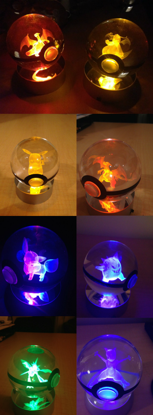 These are Quite Possibly the Coolest Pokéballs in Existence
