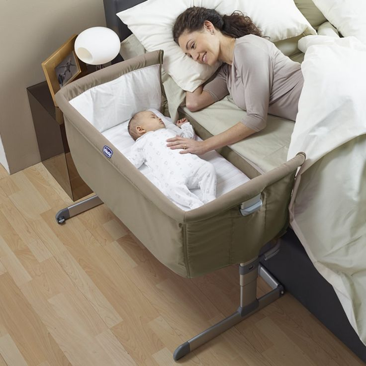 This amazing co-sleeper allows your baby to sleep safely beside you ...