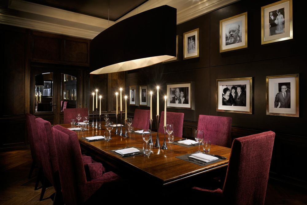 Jw Steakhouse Park Lane Private Dining Room Private Dining Table Furniture