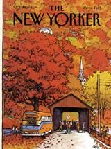 The New Yorker Cover - October 19, 1981 Stretched Canvas Print by Arthur Getz