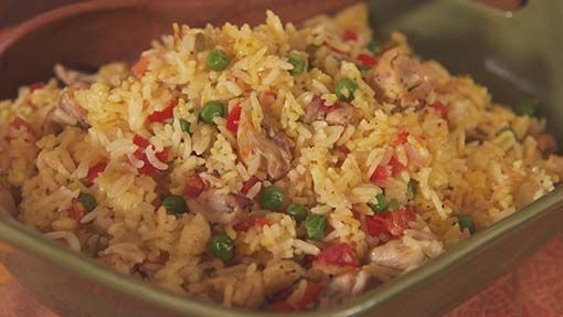 Drunken Rice with Chicken #mexicancooking